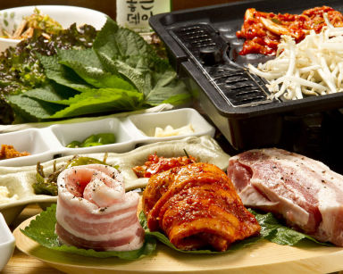 サムギョプサル 韓国料理専門店 さらんばん こだわりの画像
