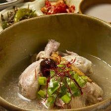 自慢の参鶏湯!本格韓国料理を。