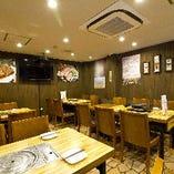 【1F】K-POP流れる空間♪アットホームな雰囲気で韓国料理をお楽しみください!