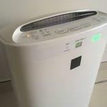 微酸性電解水にて店内の空間除菌