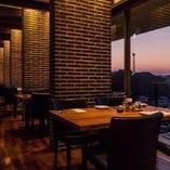 糸島の風景を眺めながらゆったりとした時間をお過ごしください。