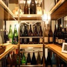 銘酒・地酒は常時30種類以上