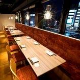 様々なシーンでご利用頂ける個室席でのお食事をお愉しみ下さい。
