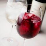 赤、白、ロゼ、スパークリング、シャンパンなど種類豊富です!!