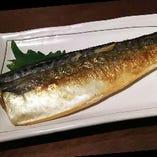 あじ、サバ、さんまなど「本日の焼き魚」