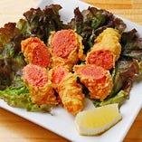 こんな食べ方もあります「明太子天ぷら」