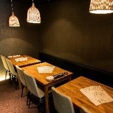 忘年会、各種飲み会に最適個室
