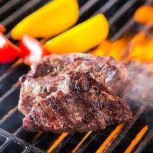グリルで焼き上げる肉・肉・肉…