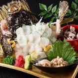 糸島  虎魚活き造り