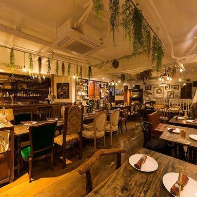 ワイン食堂 ビオワルン 藤崎店  店内の画像