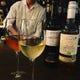 ワインは全てグラスで、赤・白計8種類からご注文頂けます。