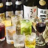 宴会に最適な飲み放題コースもご用意!