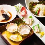 豆腐に口の肥えた京都の方も納得の豆腐料理は当店の名物!
