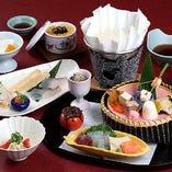 【ミニ懐石 華】季節の魚しゃぶ付「はな扇」
