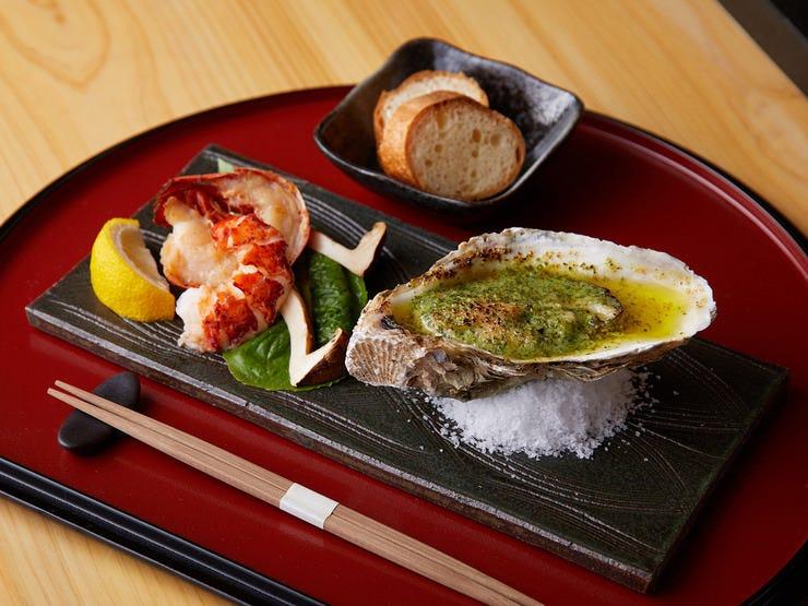 京野菜や和の食材を用いたフレンチ懐石をご堪能ください。