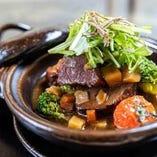 京野菜と和の食材を用いたフレンチ料理を堪能ください。