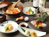 【和食】カラオケでなんとお刺身から蕎麦まで本格和食をご提供
