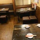 【テーブル席】4名席×4卓