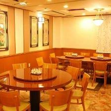 異国な雰囲気で中華料理を堪能