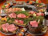 コース料理は少しずつ色々が魅了的。