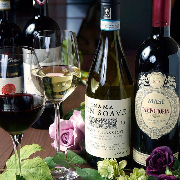 厳選ワインをワインセラーで管理 お手頃からお祝い用まで幅広く