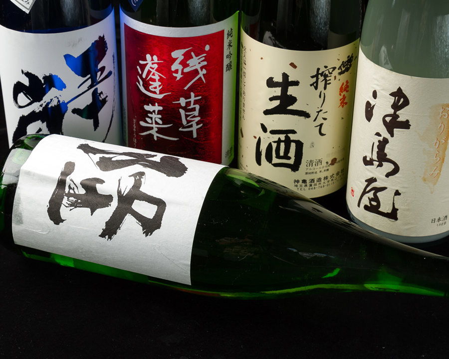 [厳選地酒]純米酒にこだわった銘酒