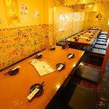 各種宴会に最適なテーブル席