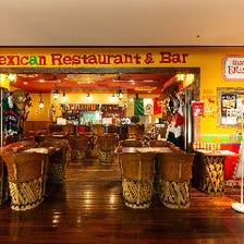 まるでメキシコ現地のレストラン!