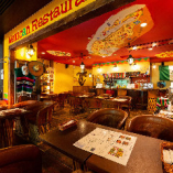 まるでメキシコ本場のレストランのような居心地です!