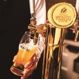 他では味わえない専門店のビールをお楽しみ下さい。