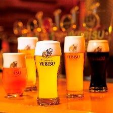 9種類のヱビスビール!!