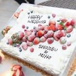 ☆ Wedding Cake ☆ ※その他お祝いのケーキもご対応致します。