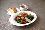 新鮮野菜のサラダボウル
