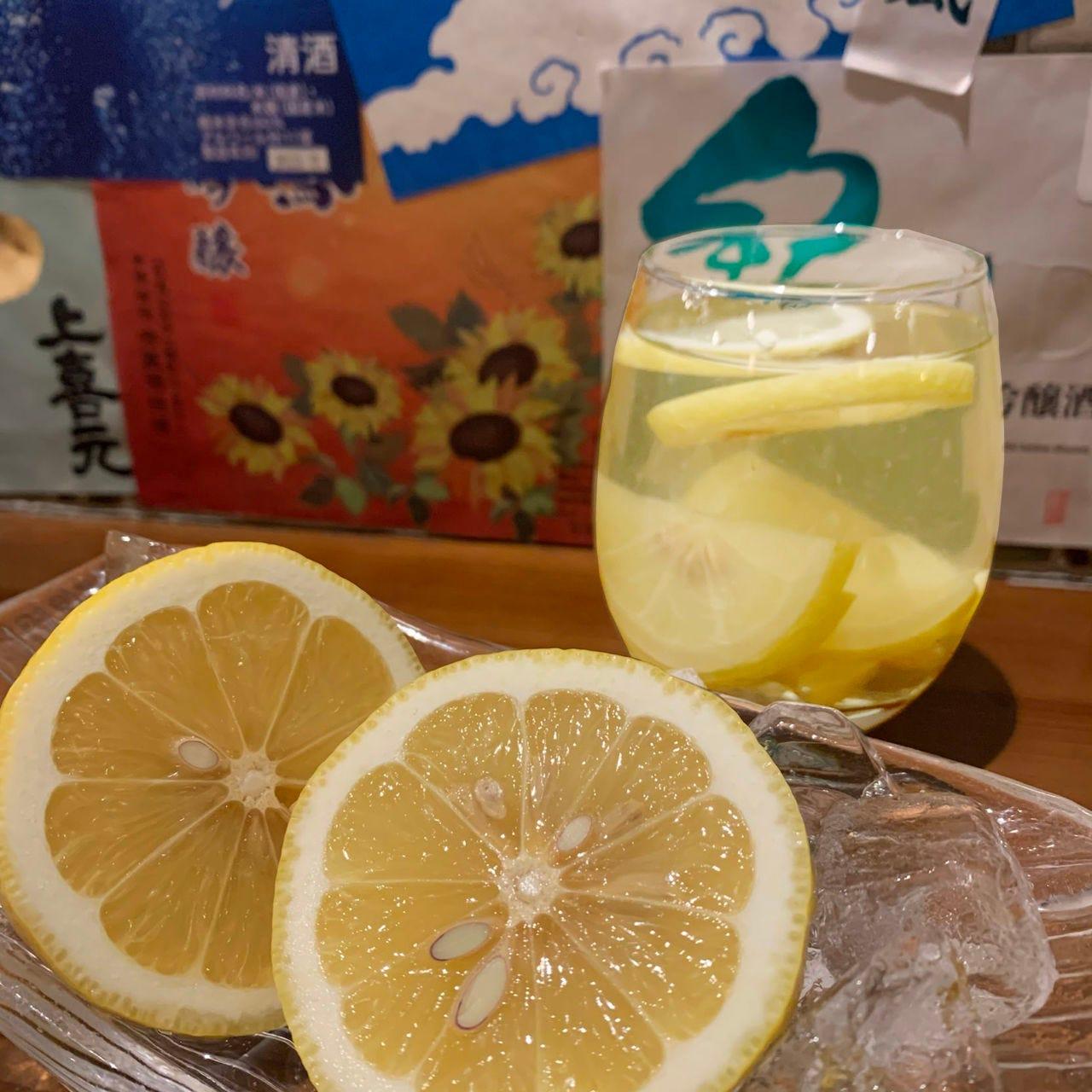 女性に大人気!自家製レモンサワー