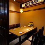 【広々個室】 プライベートな飲み会や接待などにも最適