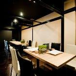 いつもの仲間と飲み会や女子会、会社宴会、デートなど、個室は大小様々なシーンにご利用いただけます。