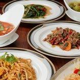タイ料理をあますことなく堪能したい方はコースがおすすめ