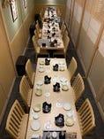 テーブル個室最大26名様 (喫煙ルームございます)