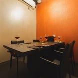 大切なおもてなしにも相応しいテーブル席個室(〜6名様×3部屋)
