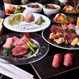 【匠の技】 上質な肉の持ち味を最大限に活かす多彩なメニュー