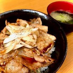 炭火焼き豚丼(味噌汁付)
