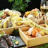 宴会コース120分飲み放題付き3500円〜KITSUNEの全てを詰め込み!
