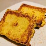 豆腐のフレンチトースト