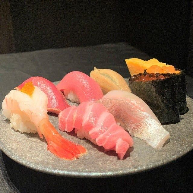 【寿司】板前の江戸前寿司をご提供