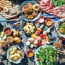 自慢のソーセージやお肉が大人気