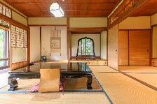 歴史ある完全個室のお座敷空間