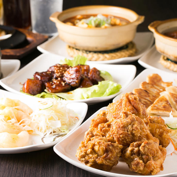 大人気!本格中華料理170種類以上が飲み放題付きで食べ放題!