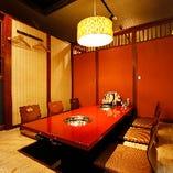会社宴会にも使える掘りごたつ席完全個室(4~8名様×4部屋)