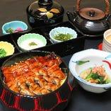 [お馴染みの味も多数] 会席のほか、天ぷら・鰻(うなぎ)もご用意