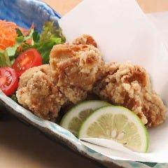 九州厳選鶏使用 鶏の水炊き唐揚げ